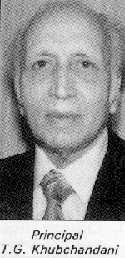 Principal T.G. Khubchandani